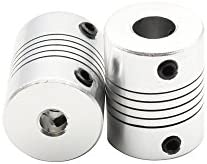 Redrex Kits de Movimiento de la Impresora 3D Para Reprap Prusa i3 Acoplador Del Eje Del Motor + GT2 de Correas Dentadas 20T + Polea + 608ZZ Rodamiento ...