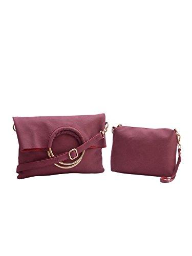 Legal Bribe Women #39;s Shoulder Bag  Maroon   Numbers 1