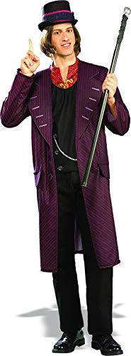 (Rubie's Costume Charlie and The Chocolate Factory Willy Wonka, Multicolored, X-Large)