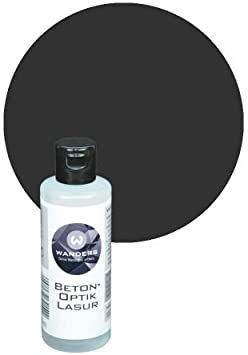 Wanders24 Pittura Per Muro Aspetto Cemento 0 09 Litri Vernice A Effetto Colore Scuro Vernice Effetto Moderno Pittura Murale Colore Effetto Amazon It Fai Da Te