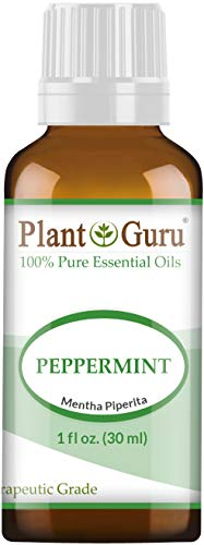 Peppermint Essential Oil 1 oz / 30 ml 100% Pure Undiluted Therapeutic Grade Extract of Mentha Piperita, Great for Aromatherapy Diffuser, Skin Body and Hair.