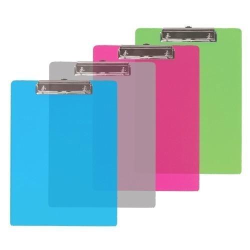 BAZIC Plastic Clipboard Profile Colors