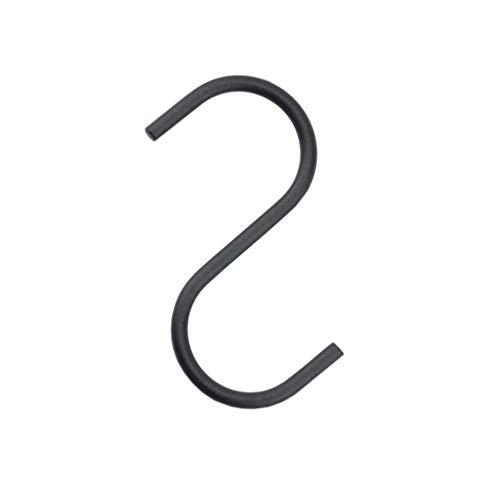 "NAHANCO SHKSMRS Raw Steel Jeans Hook, 4"" (Pack of 50)"