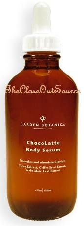 GARDEN BOTANIKA Chocolatte Body Serum 4fL Oz./118 mL.