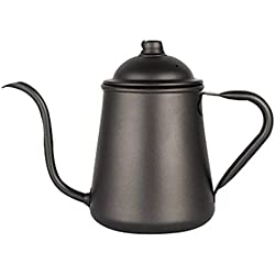 304 Stainless Steel Coffee pot Anti-Scalding Handle Large Capacity Kettle Home Teapot 31.6 ounces