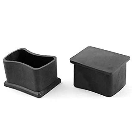 Amazon.com : Muebles rectángulo Leg Protector de goma del ...