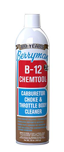 Berryman 0117C B-12 Chemtool Carburetor, Choke and Throttle Body Cleaner, VOC compliant in all 50 states, 16 oz.