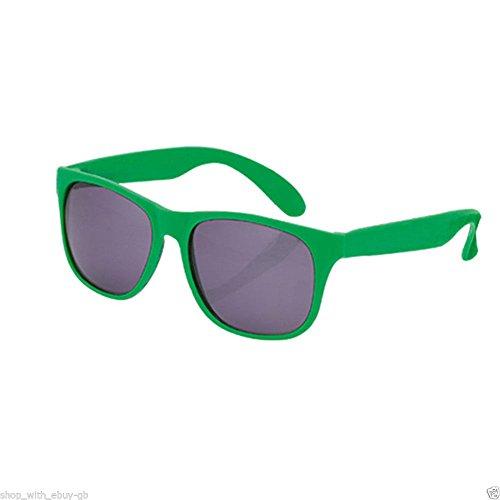 Style Sun UV400 classique de unisexe rétro lunettes Geek Wayfarer Nerd Vert soleil eBuyGB de Protection ZdwxqXH7Xn