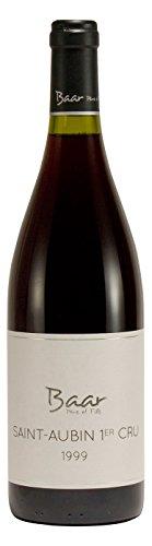Saint-Aubin 1er Cru 1999 - Trockener französischer Pinot Noir Rotwein aus Côte de Beaune - Jahrgangswein zu besonderen Anlässen