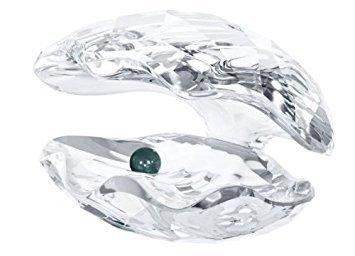 (Swarovski Crystal Figurine #5075913, Pearl Oyster Shell, Crystal)
