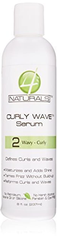 4 Naturals Curly Wave Serum 235 ml by 4 Naturals