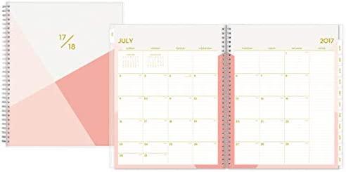 Blue Sky Cali - Agenda escolar de color rosa, 12,7 x 20,3 cm ...