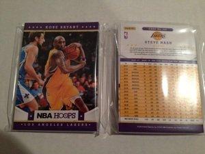 2012-13 NBA Hoops Los Angeles Lakers Team Set 10 Cards Kobe Bryant Mint