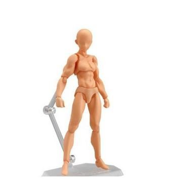 Max Factory Figma Archetype - He (Flesh Color Version) Exclusive Figure (Max Factory Figma Archetype Next Male Action Figure)