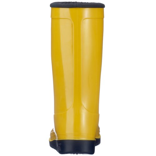 Romika Kadett | PVC Kinder Regenstiefel  | Bunte Unisex-Gummistiefel für Mädchen und Jungen | Schadstofffrei | Gr. 36-42 Gelb (zitrone-blau 805)