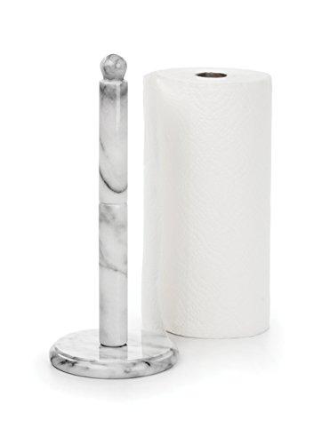 RSVP White Marble Paper Towel (Ceramic Paper Towel Holder)