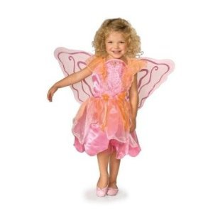 [Child Small (Size 4-6, 3-4 Yrs) Child Storytime Wishes Pretty Pixie Costume] (Witch Pretty Pink Toddler Costumes)