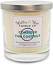 Walter & Rosie Candle Co. - Consider The Coconut 11oz Scented Candle Inspired by Disney Scents - Smell Ins