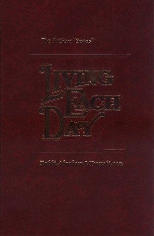 Living Each Day (ArtScroll (Mesorah)) (The Artscroll series)
