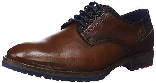 Fluchos Zapatos Cordones brezza Derby Camel Hombre C1 De Marrón Camel Ciclope Para CpCr7S
