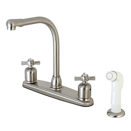 OKSLO Millennium fb718zx 8 centerset high-arch spout faucet with white abs spr model x202