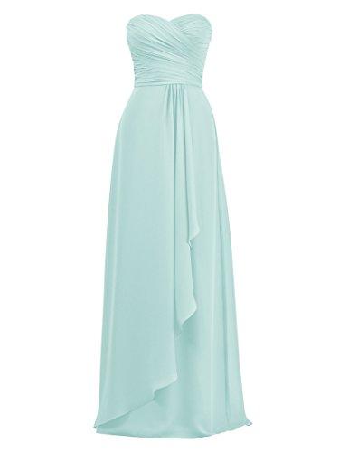 Robes De Demoiselle D'honneur De Alicepub Pour Les Femmes De Robe De Bal De La Soirée De Mariage Taille Plus Bleu Clair