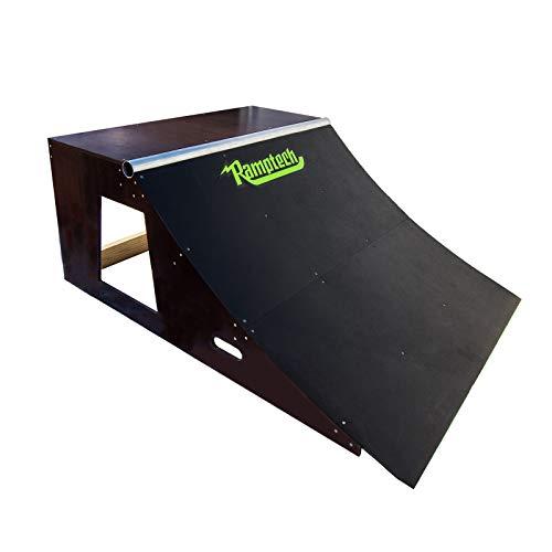 Ramptech-2-Tall-x-4-Wide-QUARTERPIPE-Skateboard-Ramp