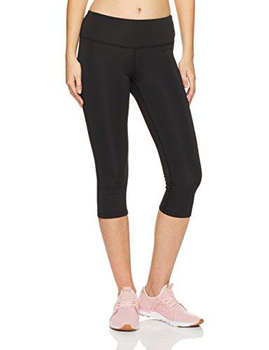New Black Leggings - New Balance Core Capri, Black, Medium
