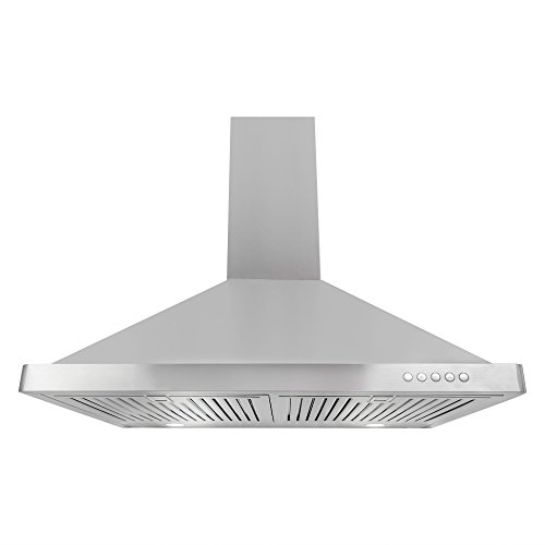 Cosmo 63190FT750 30 in. Wall Mount Range Hood with Push Button Controls, LED Lighting and Permanent Filters