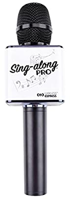 Sing-along PRO Bluetooth Karaoke Microphone and Bluetooth Stereo Speaker All-in-one (Black)