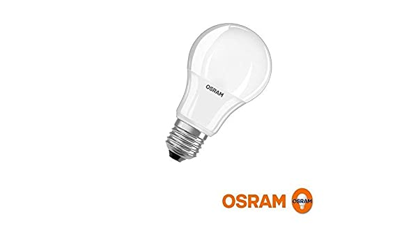 Osram Value Classic A 60. Bombilla Led 220-240v 9,5w 4000k e27. 806 Lumen.: Amazon.es: Iluminación