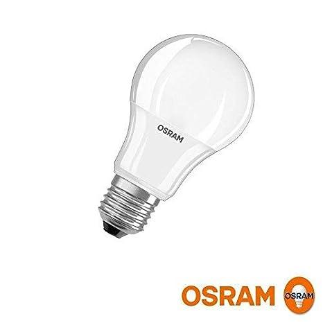 Osram Value Classic A 60. Bombilla Led 220-240v 9,5w 4000k e27. 806 Lumen.: Amazon.es: Iluminación