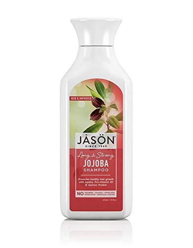 Jason Pure Natural Shampoo Long and Strong Jojoba - 16 fl oz, Set of - Shampoo Jason Natural