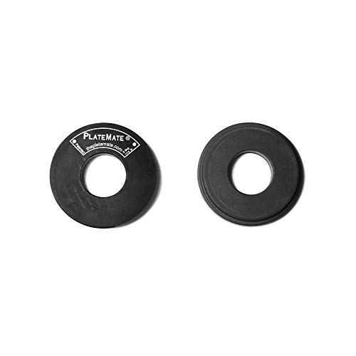 PlateMate 2-Pcs Magnetic Donut 1.25-Lb Workout Microload Weight Plate Add-Ons