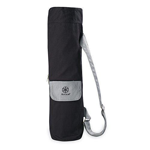 Gaiam Cargo Yoga Mat Bag, Granite Storm