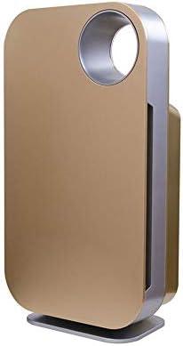 HEMFV Los purificadores de Aire for el hogar - 100% de ozono Gratuito, Bloqueo Conjunto, Elimina el Humo, Polvo, Polen, caspa de Mascotas.Modo Automático Inteligente y el Modo Manual (Color : Gold):