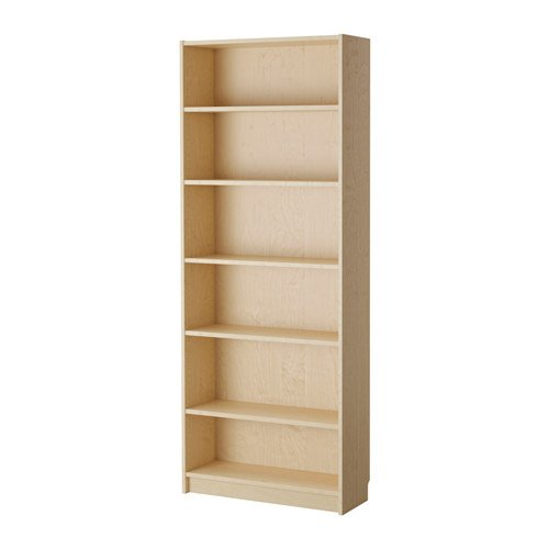 Bookcase Birch (IKEA BILLY Bookcase birch veneer)