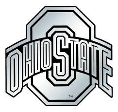 NCAA Ohio State Buckeyes Chrome Automobile ()