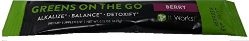 It Works  Greens On The Go  10 Count  Berry Flavor