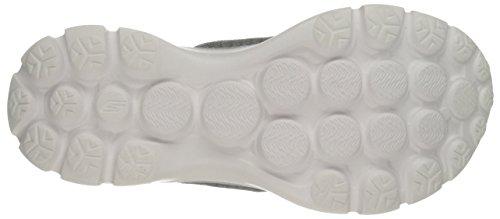 Skechers Go Walk - Pizazz - Zapatillas de deporte para mujer Gray/Aqua