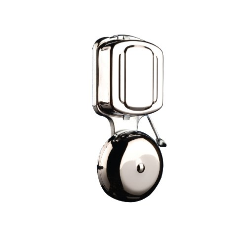 Byron 7721 Wired Wall Mounted Chrome Door Chime Striker Bell