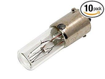 CEC Industries #120MB Bulbs, 120 V, 3 W, BA9s Base, T-2 Shape (Box of ()