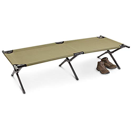 - HQ ISSUE Military Style Camping Cot