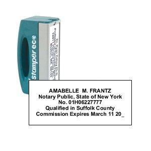Xstamper Self Inking Notary Pocket Stamp Amazon Co Uk