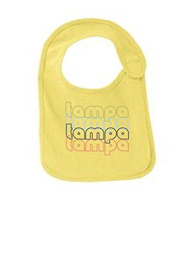 Gasparilla Pirate Festival (Tampa Florida Retro Funny Infant Jersey Bib Yellow One Size)