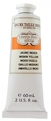 Charbonnel Etching Ink 60 ml Tube - Indian Yellow