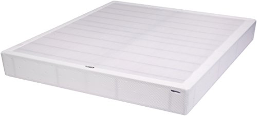 AmazonBasics Steel Mattress Foundation / Alternative to Traditional Box Spring - 9-Inch, Cal King ()