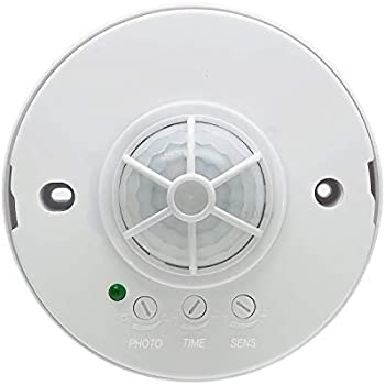 J.LUMI YCA1001 360 Degree PIR Ceiling Occupancy Motion Sensor Light Switch High Sensitive Motion