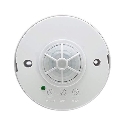 J.LUMI YCA1001 Ceiling Mounted Occupancy Sensor, High Sensitivity PIR Motion Sensor Light Switch, PIR Sensor - Sensor Mounted