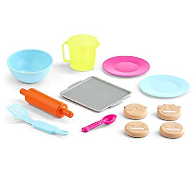 Little Tikes Tasty Jr. Bake 'N Share Emoji Cookies Role Play Activity Pack: Toys & Games